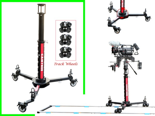 Camtree Portable Dolly + Bazooka